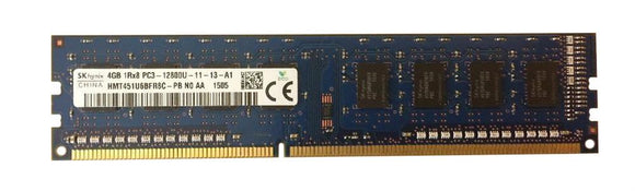 HMT451U6BFR8C-PBN0-AA Hynix 4GB PC3-12800 DDR3-1600MHz non-ECC Unbuffered CL11 240-Pin - Rebuild IT