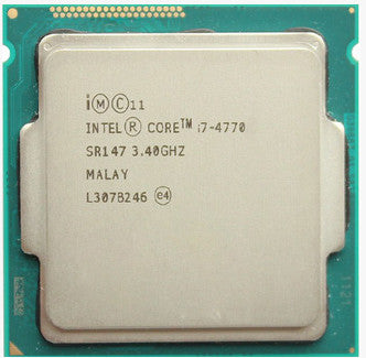 Intel Core i7-4770 3.4GHz Processor - Socket 1150
