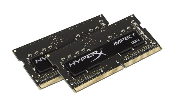 HX424S14IBK2/8 Kingston HyperX Impact 8GB Kit (2 X 4GB) PC4-19200 DDR4-2400MHz non-ECC Unbuffered CL14 (14-14-14) 260-Pin SoDimm 1.2V - Rebuild IT