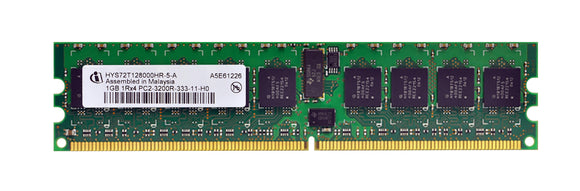 HYS72T128000HR-5A Infineon 1GB PC2-3200 DDR2-400MHz ECC Registered CL3 240-Pin DIMM Dual Rank Memory Module - Rebuild IT