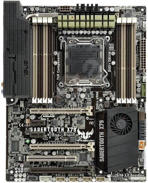 ASUS Sabertooth X79, Socket-2011