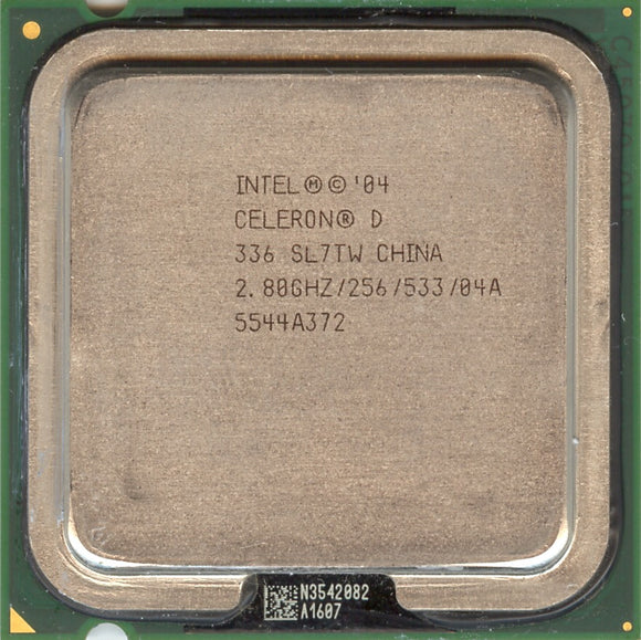 Intel Celeron D Processor 336 2.80GHz - Socket LGA775