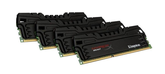 KHX18C9T3K4/16X Kingston XMP 16GB Kit (4 X 4GB) PC3-14900 DDR3-1866MHz non-ECC Unbuffered CL9 240-Pin DIMM