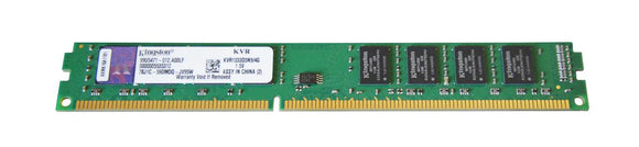 KVR1333D3N9/4G Kingston 4GB PC3-10600 DDR3-1333MHz non-ECC Unbuffered CL9 240-Pin DIMM - Rebuild IT