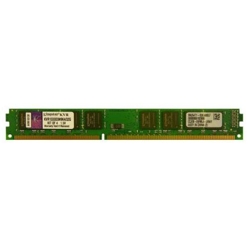 KVR1333D3N9K2/8G Kingston 4GB PC3-10600 DDR3-1333MHz non-ECC Unbuffered CL9 240-Pin - Rebuild IT