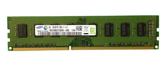 M378B5273DH0-CK0 Samsung 4GB PC3-12800 DDR3-1600MHz non-ECC Unbuffered CL11 240-Pin DIMM