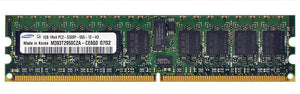 M393T2950CZA-CE6Q0 Samsung 1GB PC2-5300 DDR2-667MHz ECC Registered CL5 240-Pin