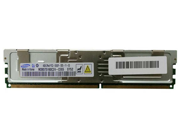 M395T5160CZ4-CE65 Samsung 4GB PC2-5300 DDR2-667MHz ECC Fully Buffered CL5 240-Pin - Rebuild IT