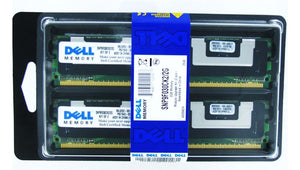 SNP9F030CK2/2G Dell 2GB Kit (2 X 1GB) PC2-5300 DDR2-667MHz ECC Fully Buffered CL5 240-Pin DIMM - Rebuild IT