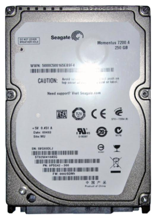 ST9250410ASG Seagate Momentus 7200.4 250GB 7200RPM SATA 3Gbps 16MB Cache 2.5