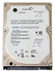 ST96812AS Seagate Momentus 5400.2 60GB 5400RPM SATA 1.5Gbps 8MB Cache 2.5""