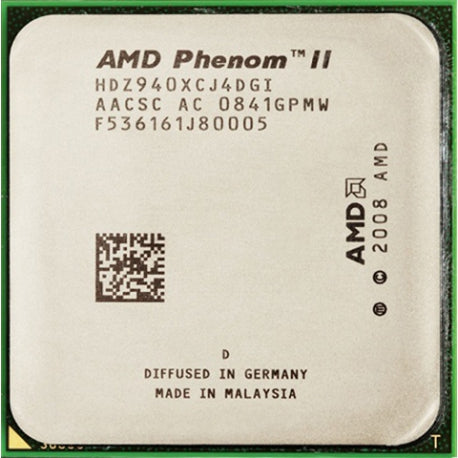 AMD Phenom II X4 940 Black Edition - Socket AM2 - Rebuild IT