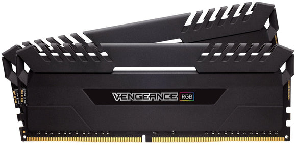 CMR32GX4M4C3000C15 Corsair Vengeance RGB 16GB Kit (2 X 8GB) PC4-24000 DDR4-3000MHz non-ECC Unbuffered CL15 (17-17-35) 288-Pin - Rebuild IT