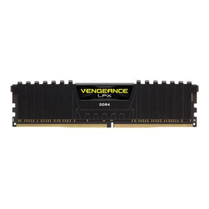 CMK16GX4M2B3000C15 Corsair Vengeance LPX Black 8GB PC4-24000 DDR4-3000MHz non-ECC Unbuffered CL15 (15-17-17-35) 288-Pin DIMM 1.35V