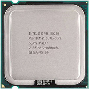 Intel Pentium Processor E5200 2.5GHz - LGA775 Socket - Rebuild IT