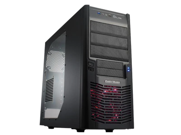Cooler Master Elite 430 (USB 3.0) Sort