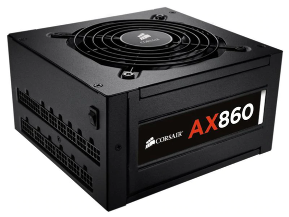 Corsair AX 860, 860W PSU (DEFEKT)