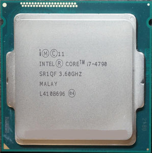 Intel Core i7-4790 3.60 GHz Processor - Socket 1150 - Rebuild IT
