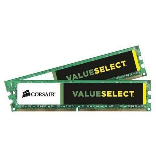 CMV16GX3M2A1333C9 Corsair 16GB Kit (2 X 8GB) PC3-10600 DDR3-1333MHz non-ECC Unbuffered CL9 240-Pin DIMM