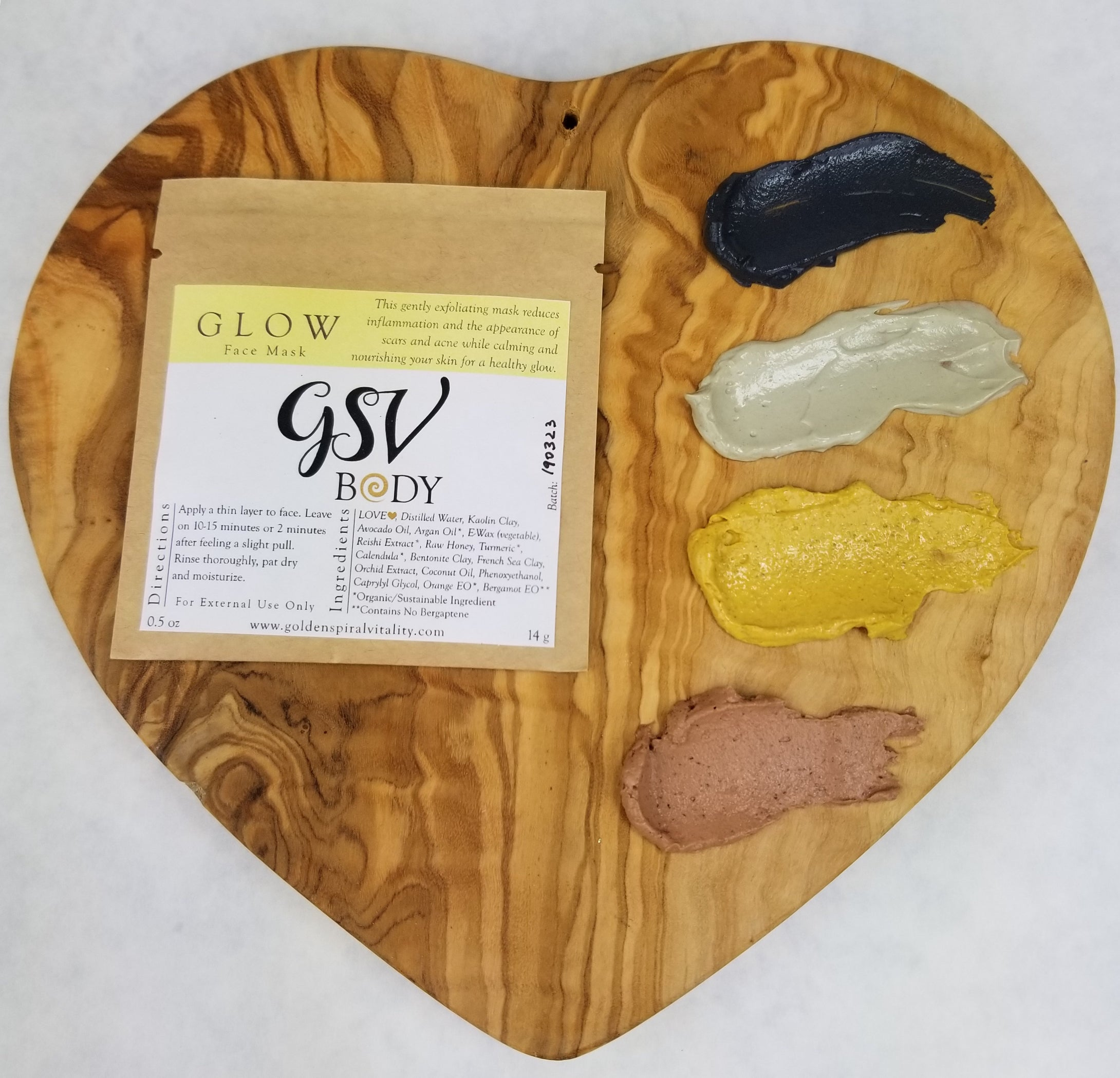 Glow Face Mask - Turmeric, Honey, Calendula, Face Mask