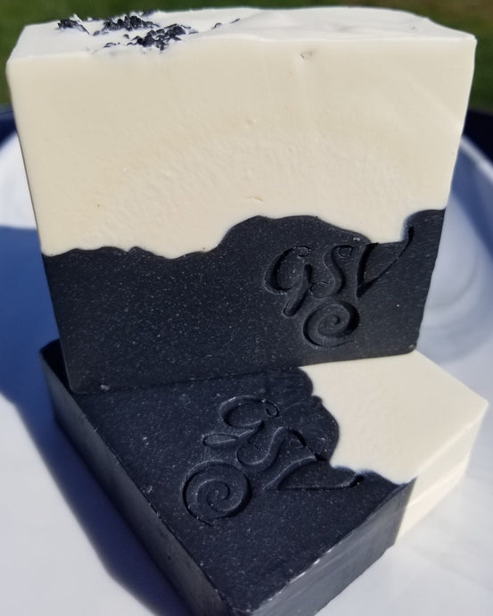 Detox Soap Bar- Activated Charcoal, Shea butter and Tea Tree