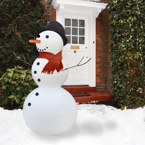 Stuart the Inflatable Snowman