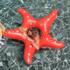 inflatable star fish pool float