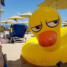 Load image into Gallery viewer, inflatable duck pool float