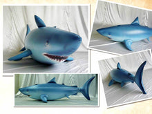 Load image into Gallery viewer, Giant inflatable shark