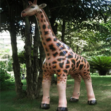 Load image into Gallery viewer, Inflatable Giraffe