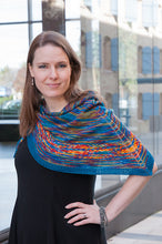 Load image into Gallery viewer, Brightness and Contrast by Anne Blayney Shawl Kit (Dyed to Order)