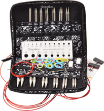"Load image into Gallery viewer, ChiaoGoo TWIST RedLace Large [L] 5"" (13 cm) Interchangeable Needle Set"