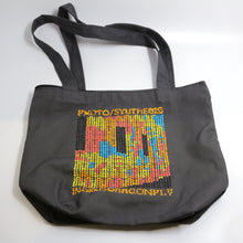 Load image into Gallery viewer, Photo/Synthesis Design by Christina Dedes-Zippered Canvas Project Bag with Handles