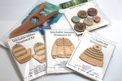 Wooden Holiday Stocking Stuffers!