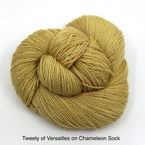 Tweety Of Versailles (Chameleon Sock)