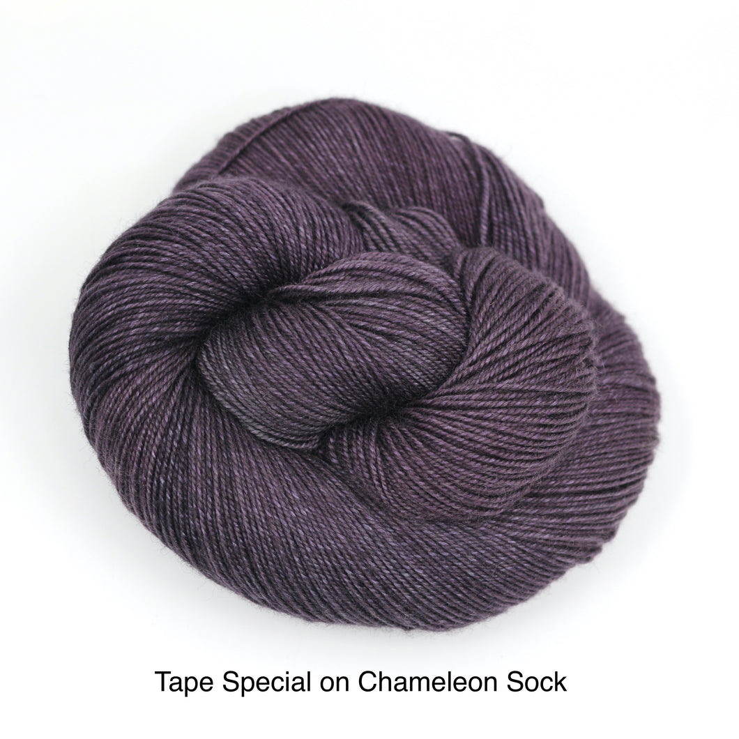 I Made That Tape Special For Today (Chameleon Sock)