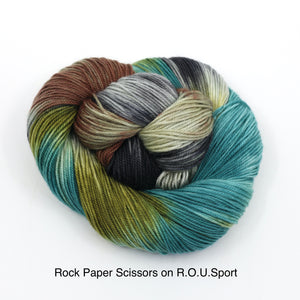 Rock Paper Scissors Lizard Spock (Dyed to Order)