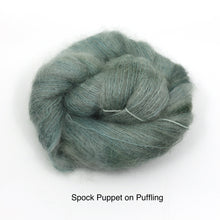 Load image into Gallery viewer, Spock Puppet (Dyed to Order)