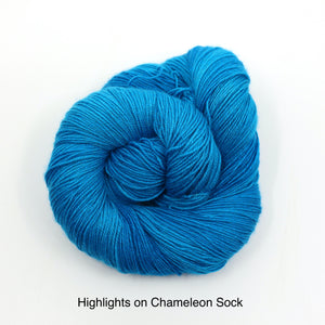 You Punched The Highlights Out Of Her Hair!! (Scott Pilgrim series) (Chameleon Sock)