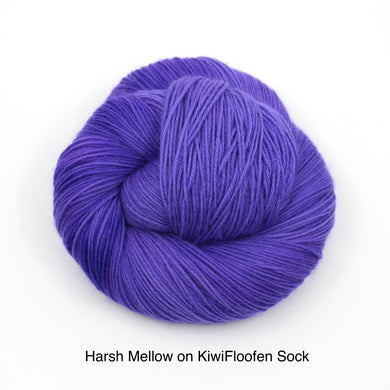 Harsh Mellow (KiwiFloofen Sock)