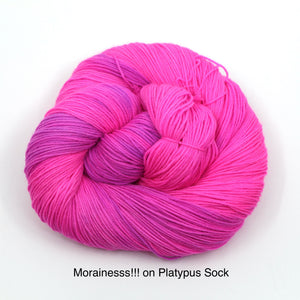Morainesss!!! (Zombie Geologist) (Dyed to Order)