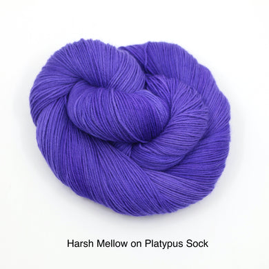 Harsh Mellow (Platypus Sock)