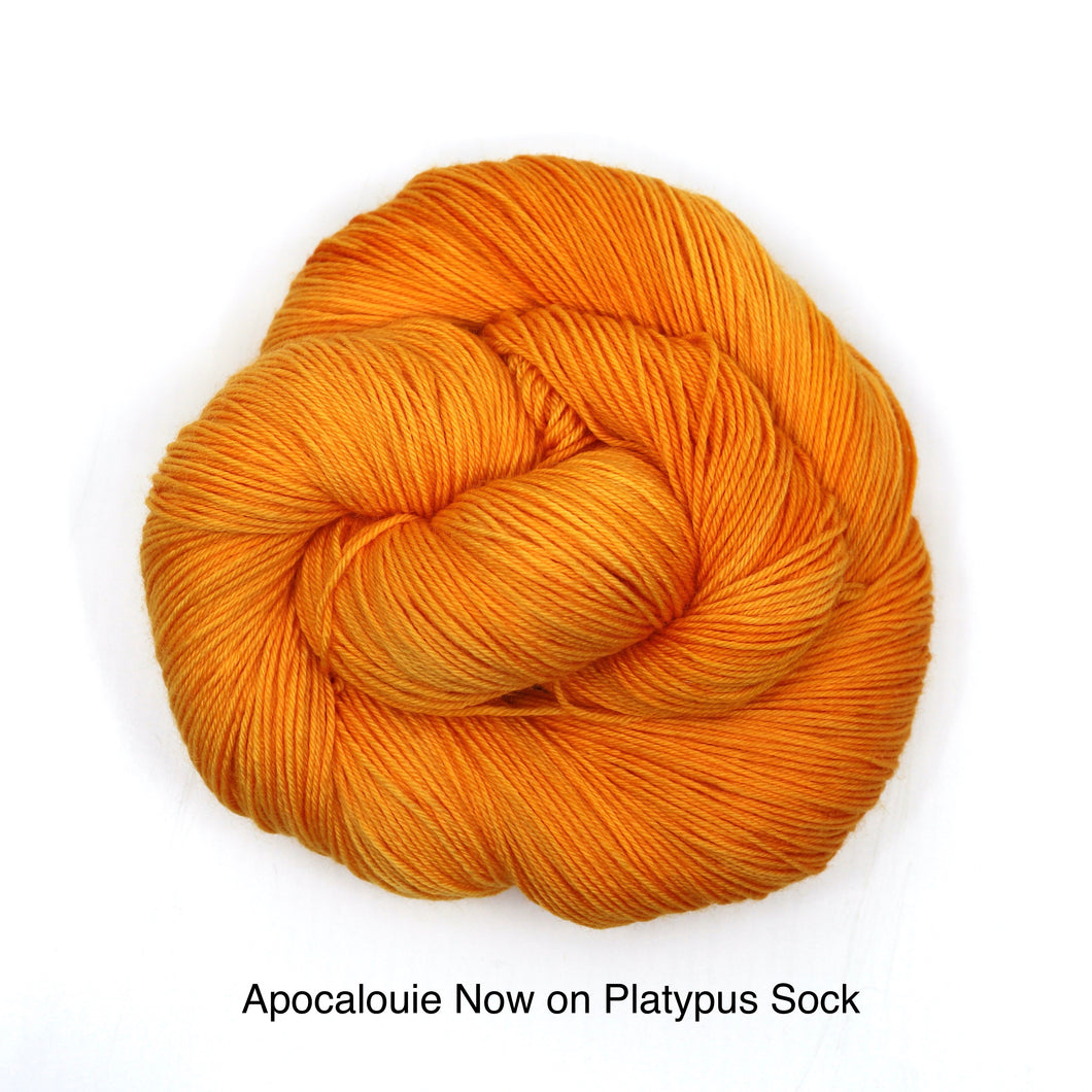 Apocalouie Now (Platypus Sock)