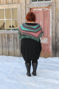 Chameleon Sock Scylla Shawl Kit (Dyed to Order)