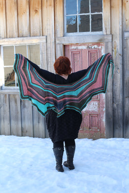 CaribouBaa Scylla Shawl Kit (Dyed to Order)