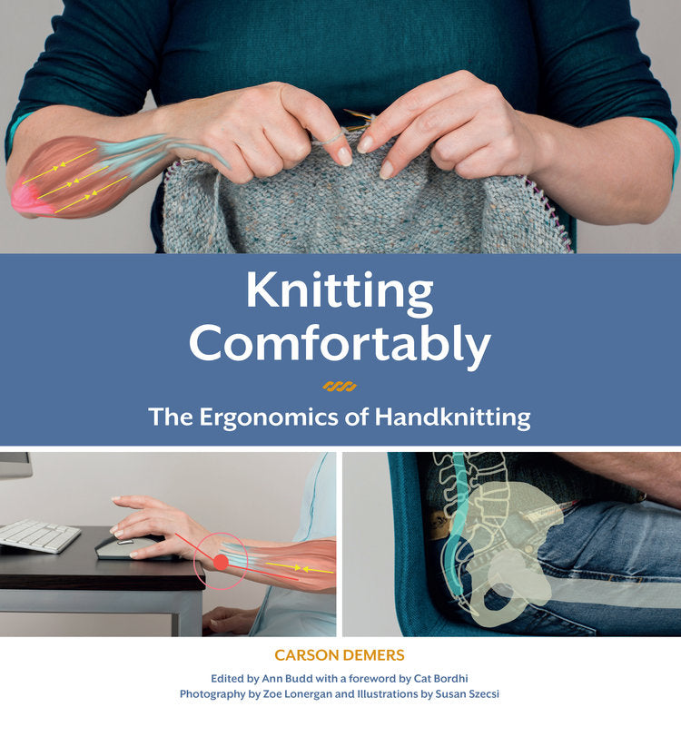 Knitting Comfortably by Carson Demers (Only Available for Canadian Customers)