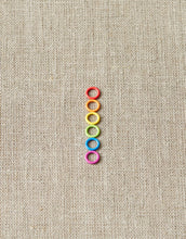 Load image into Gallery viewer, Cocoknits Magnetic Small Coloured Ring Stitch Markers