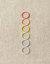 Load image into Gallery viewer, Cocoknits Magnetic JUMBO Coloured Ring Stitch Markers
