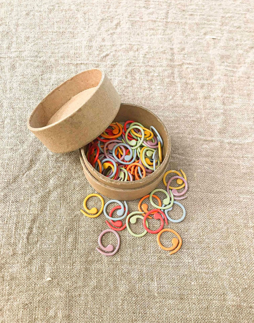 Cocoknits Magnetic Coloured Split Ring Stitch Markers