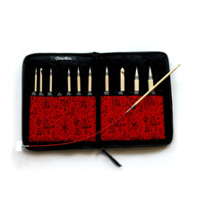 Load image into Gallery viewer, ChiaoGoo Bamboo Tunisian Crochet Interchangeable Set